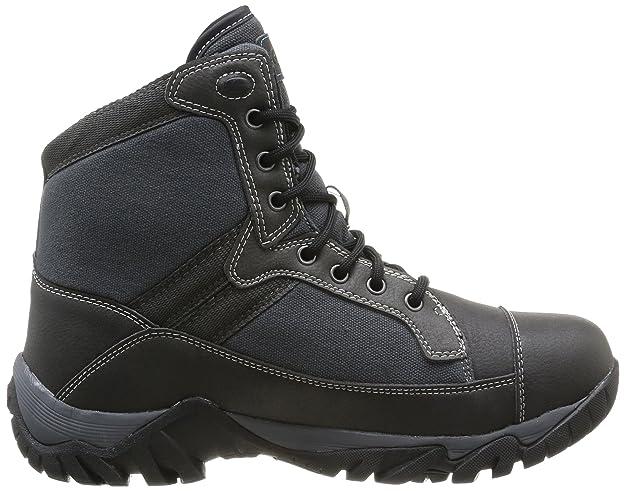 Hi-Tec Trooper Mid 200 I Wp - Zapatos para hombre, color Gris (Coal/Charcoal/Prussian), talla 43