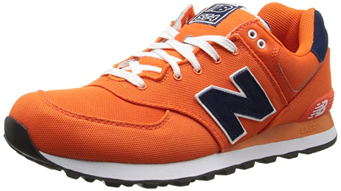 New Balance Pique Polo Pack Naranja ML574POO, Color, Talla 44 ...