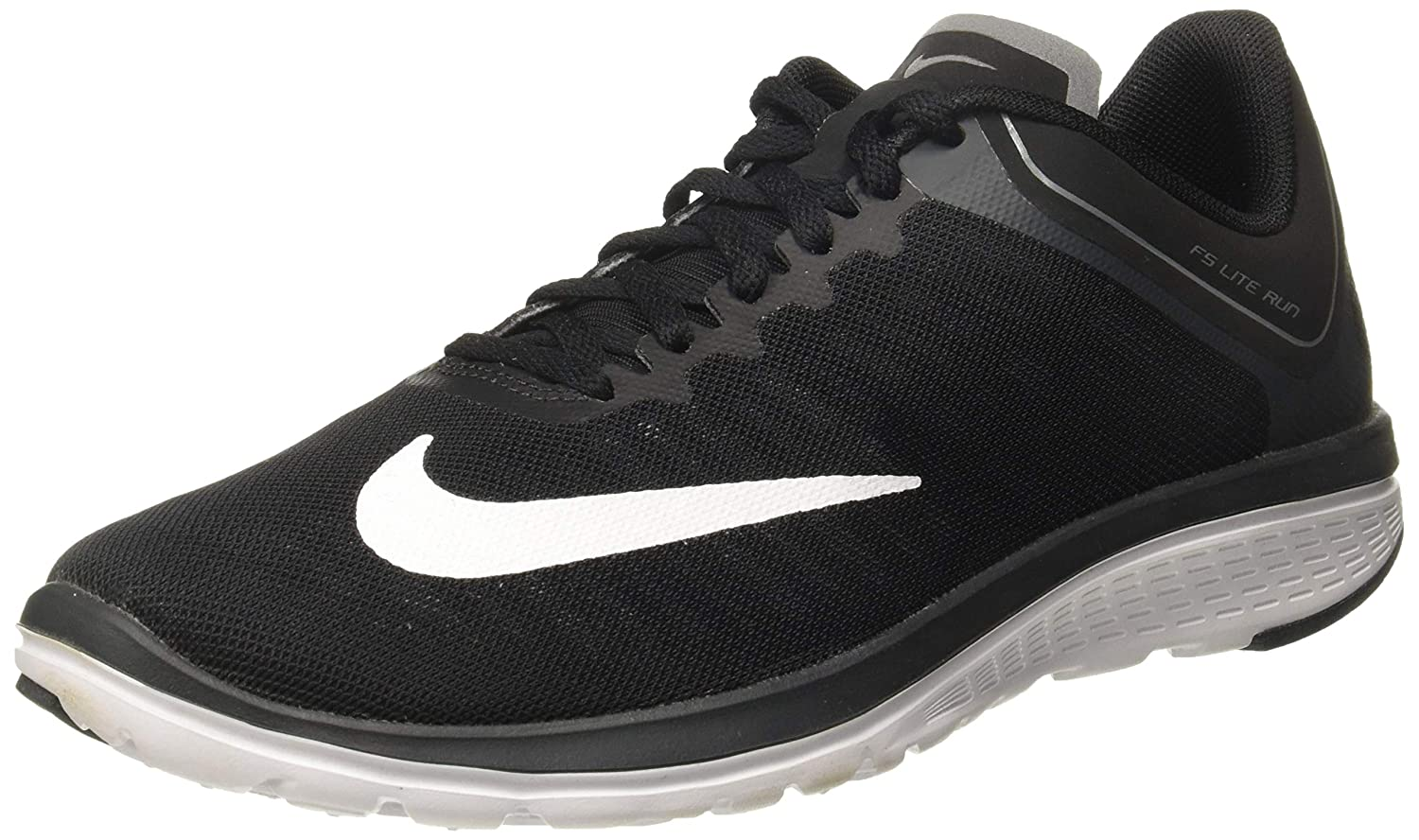 Nike Men s Fs Lite Run 4 Black White-Anthracite Ankle-High Running Shoe – 8.5M
