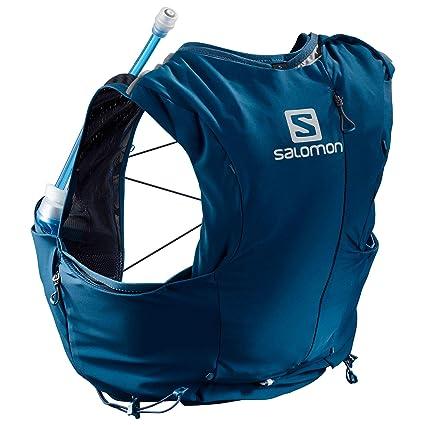 SALOMON ADV Skin 8 - Mochila para Correr, Color Azul, tamaño XXS