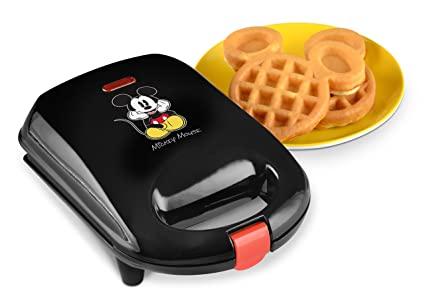 e9ed93182 Image Unavailable. Image not available for. Color: Disney DCM-9 Mickey Mini  Waffle Maker ...