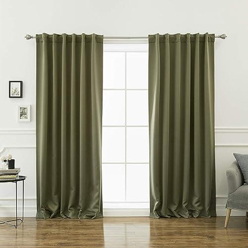 Best Home Fashion Premium Blackout Curtain Panels