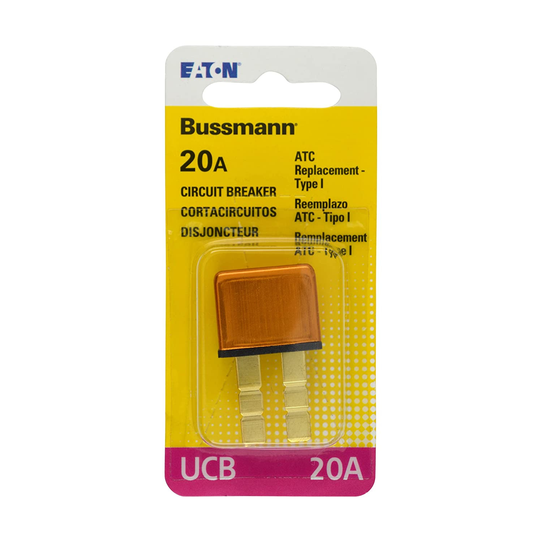 Bussmann (BP/UCB-20-RP) 20 Amp Type-I Universal Circuit Breaker