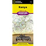 Kenya (National Geographic Adventure Map)
