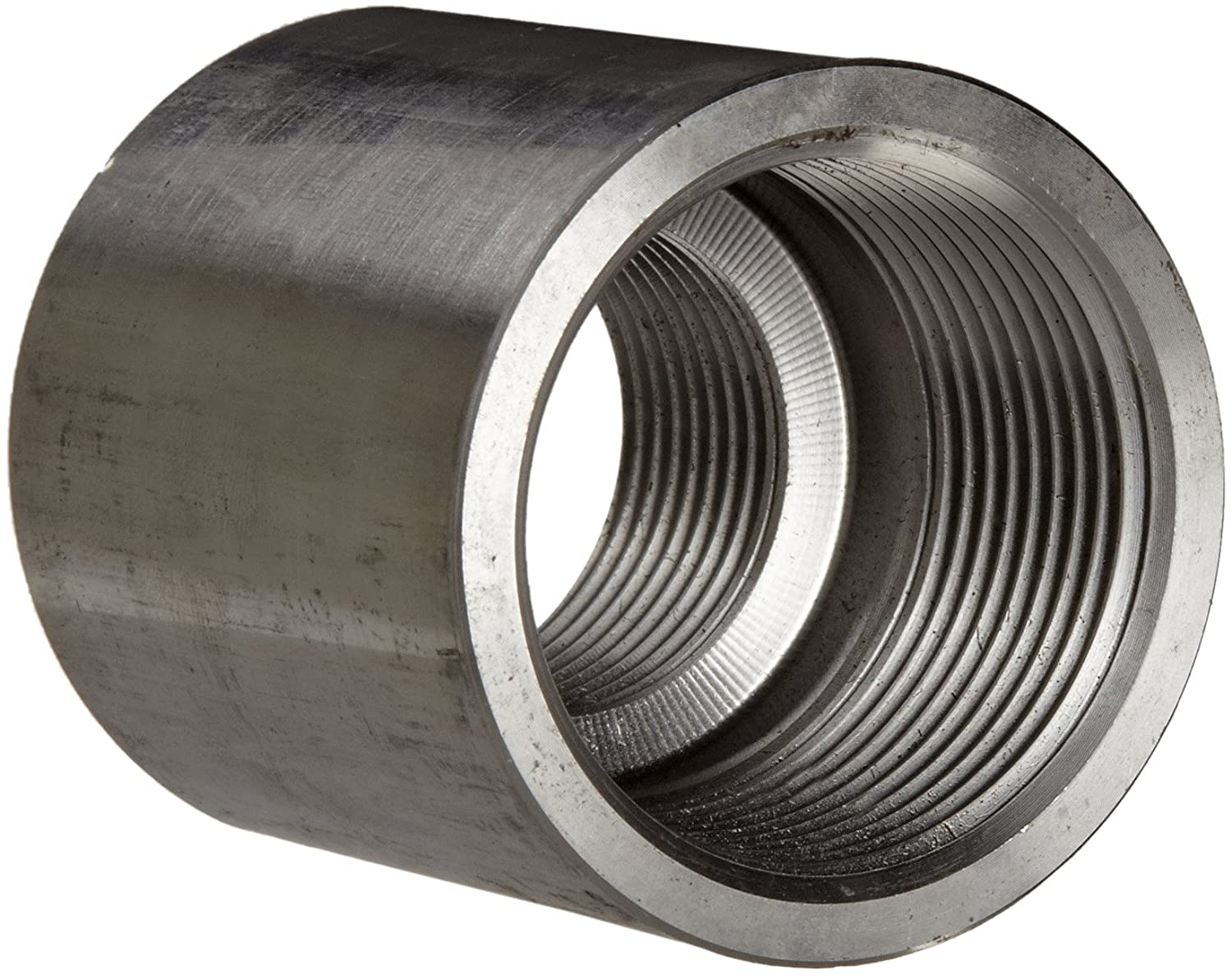 Reducing Coupling Class 1000 Stainless Steel 304 Pipe Fitting 1-1//4 X 3//8 NPT Female 1-1//4 X 3//8 NPT Female Merit Brass