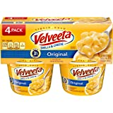 Velveeta Shells & Cheese, Original, Microwaveable Cup, 4-pack, 9.56 oz