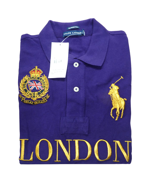 Great Femmexs Ralph Polo Lauren Britain Big Pony London Violet dQxBeWEroC