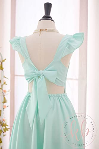 Retro Mint Bridesmaid Dresses
