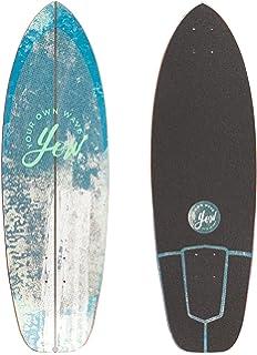 Yow Surf Nazare Freeway Cruiser Deck Tabla de Skate, Unisex Adulto,, 32