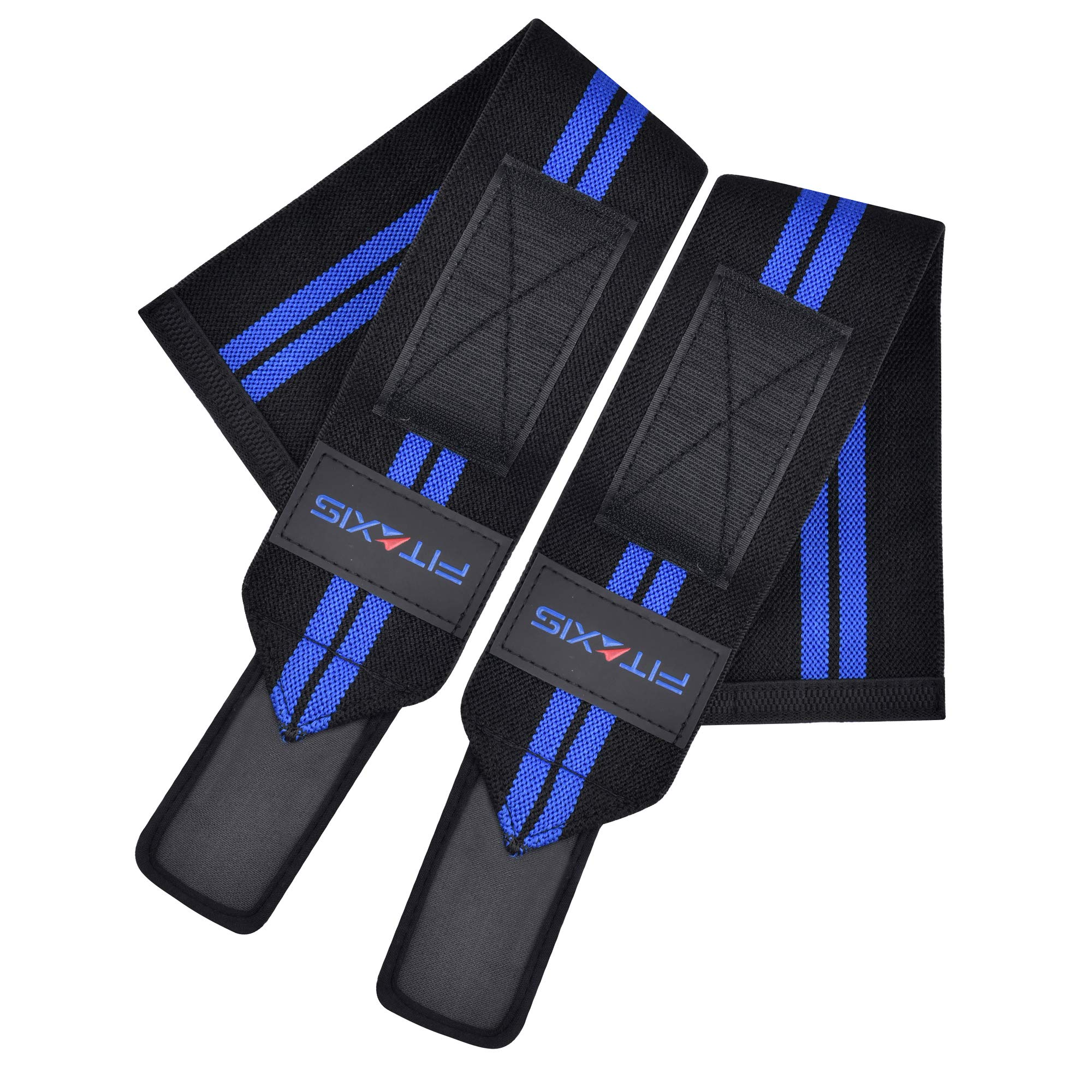 FITAXIS Muñequeras | Wrist Wraps/Bands for Gimnasio Fitness Crossfit Weightlifting para Hombres y Mujeres (Black/Blue, 18"|2000|2000|?|en|2|edcbfe435497971cb78f1dbf3beb87ec|False|UNLIKELY|0.2927263081073761
