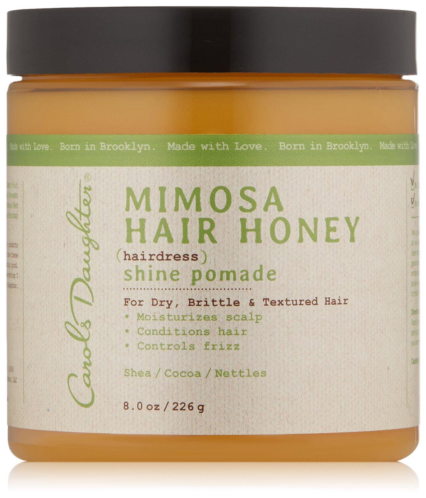 Carol's Daughter Mimosa Hair Honey Shine Pomade, 8 oz (Packaging May Vary)