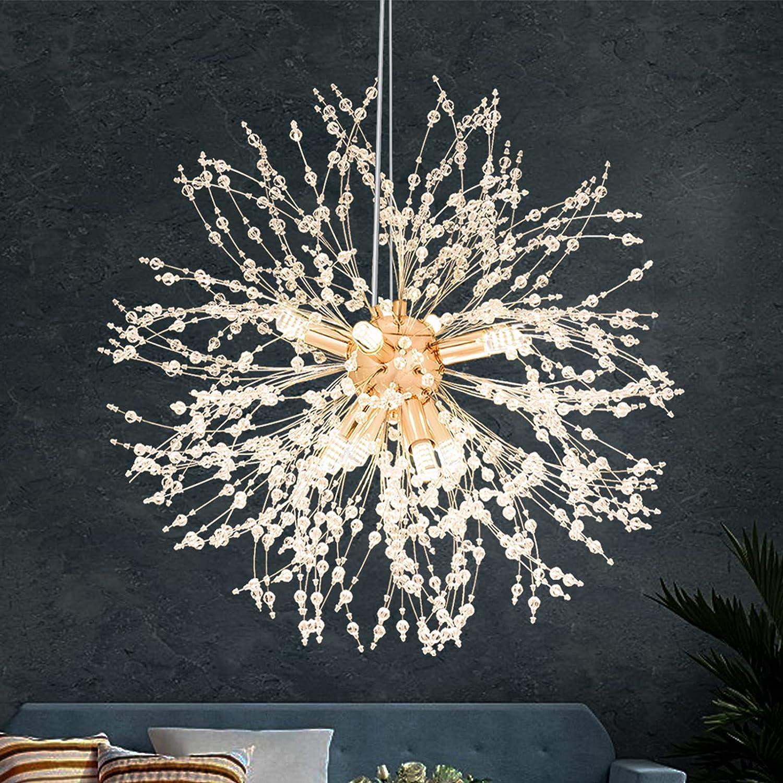 SineRise Modern Crystal Max 75% OFF Chandelier Free Shipping Cheap Bargain Gift Light Fixture D Firework Gold