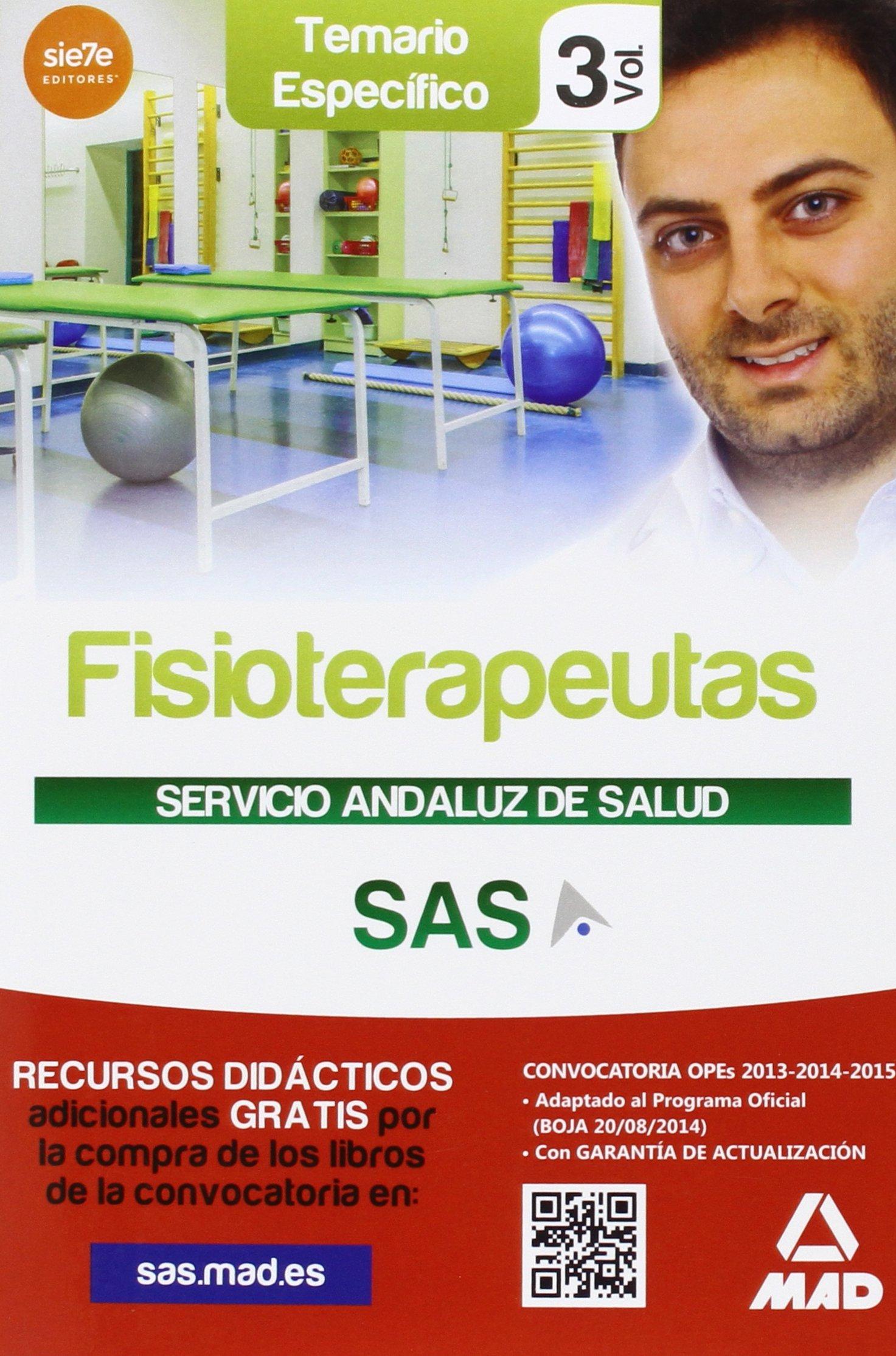 Download Fisioterapeuta del Servicio Andaluz de Salud. Vol. 3, Temario espec¦fico pdf epub