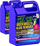 2 x 5 Litres - Simply Spray & Walk Away Concentrate Patio - Fencing - Decking - Moss Killer - Green Mould and Algae Remover