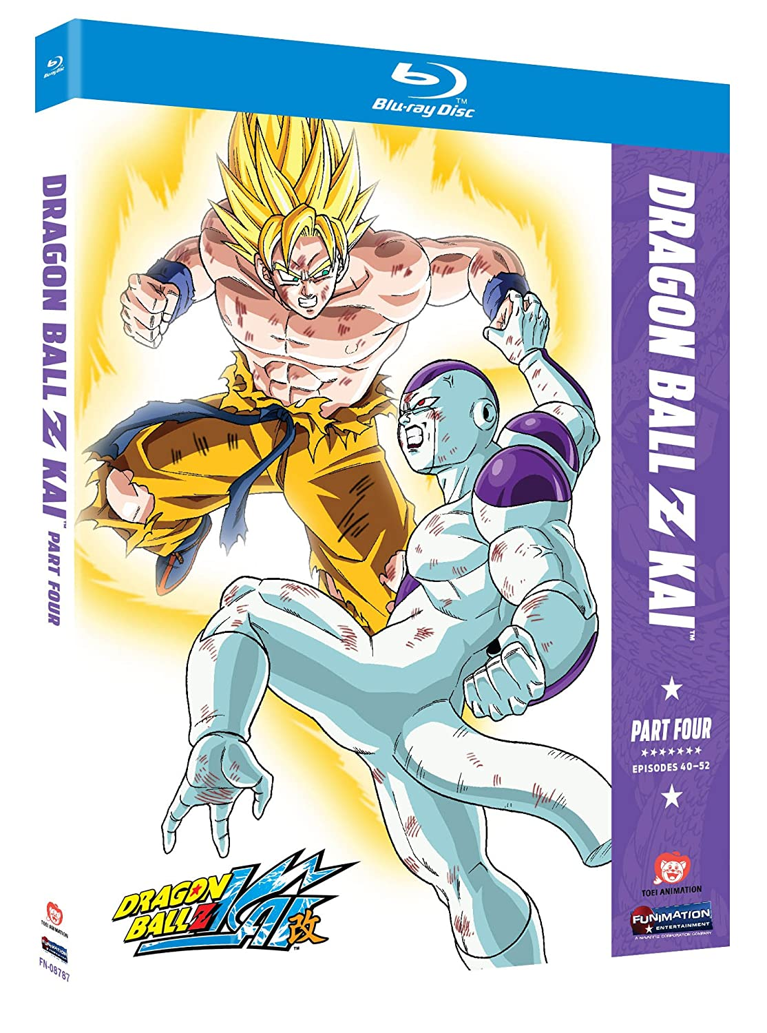 Dragon Ball Z Kai Part Four Blu Ray Colleen Clinkenbeard Sean Schemmel Monica Rial Christopher R Sabat Movies Tv