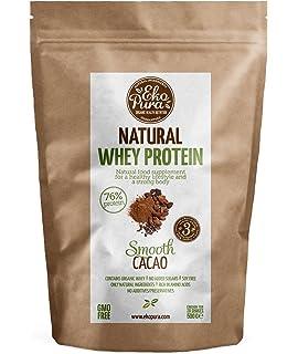 Natural Whey Protein - Smooth Cacao - 76% Proteína - Proteína de suero Orgánico -