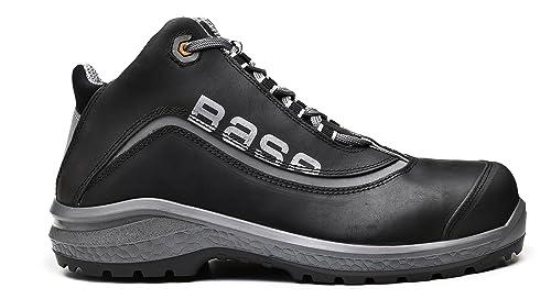 Base Be Free Top botas de seguridad con cordones S3 SRC - Tiras reflectantes - gris: Amazon.es: Bricolaje y herramientas