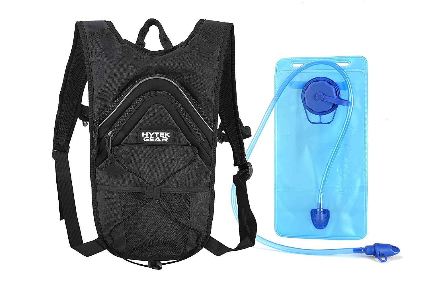 Amazon.com : Hytek Gear Hydration Backpack - Hydration Pack (Black) : Sports & Outdoors
