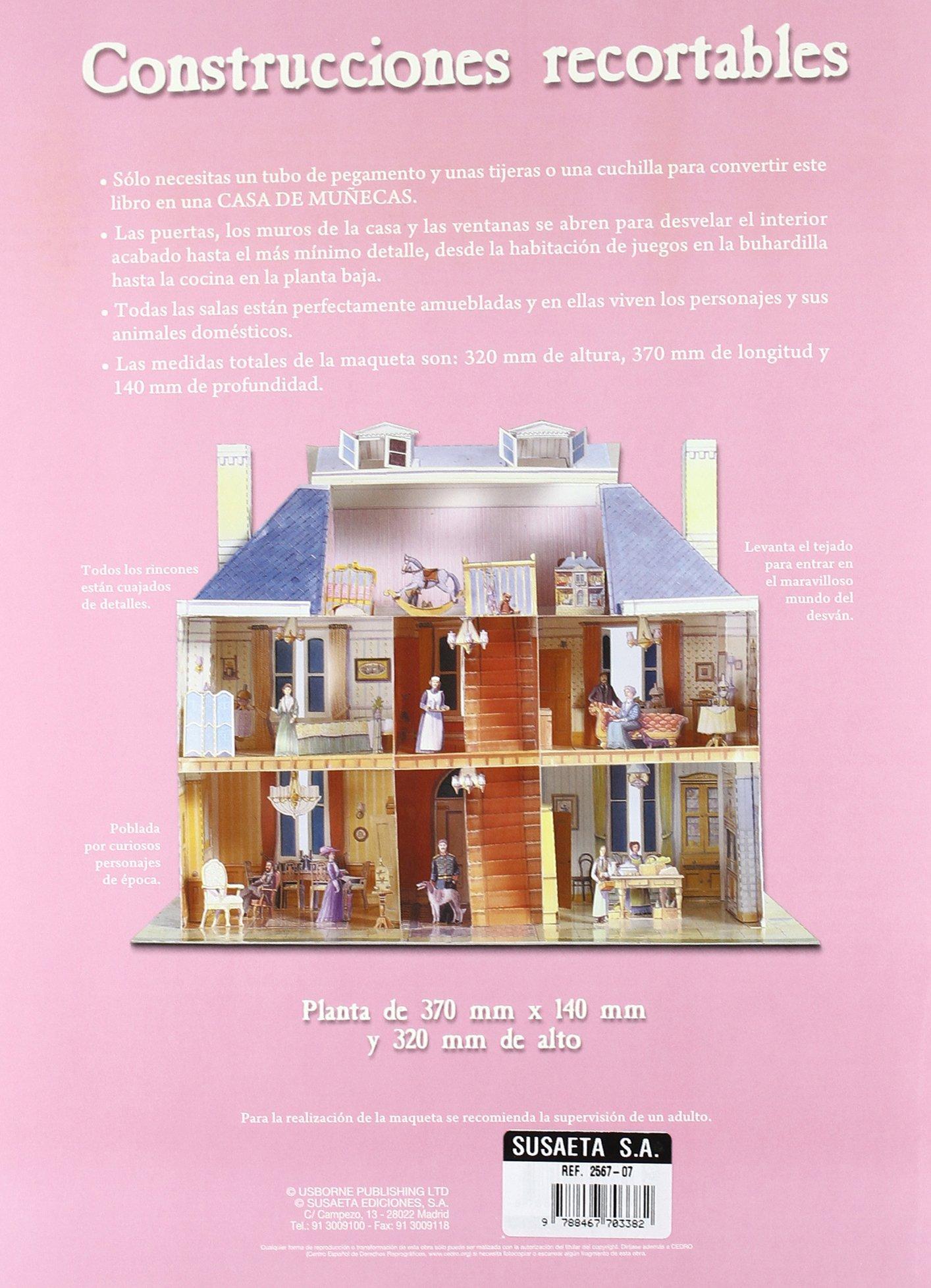 Construye esta casa de muñecas Construcciones Recortables ...