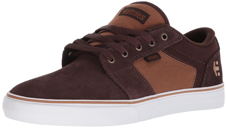 Etnies Barge LS Skate Shoe 7.5 D(M) US Brown/Tan