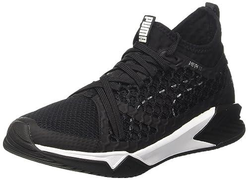 Puma Women s Ignite Xt Netfit WN s Black Multisport Training Shoes-4 UK  India ( 4fe7274b7