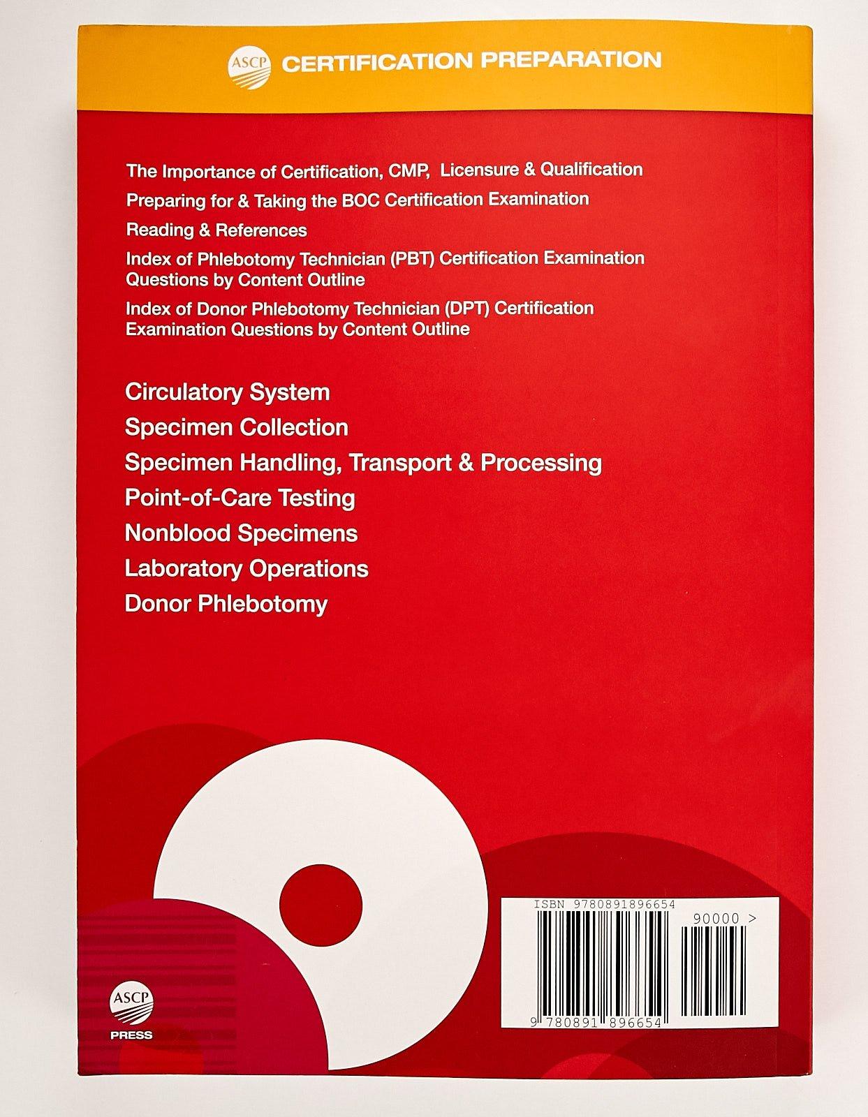 Boc Phlebotomy Study Guide Phd Mt Susan Phelan 9780891896654