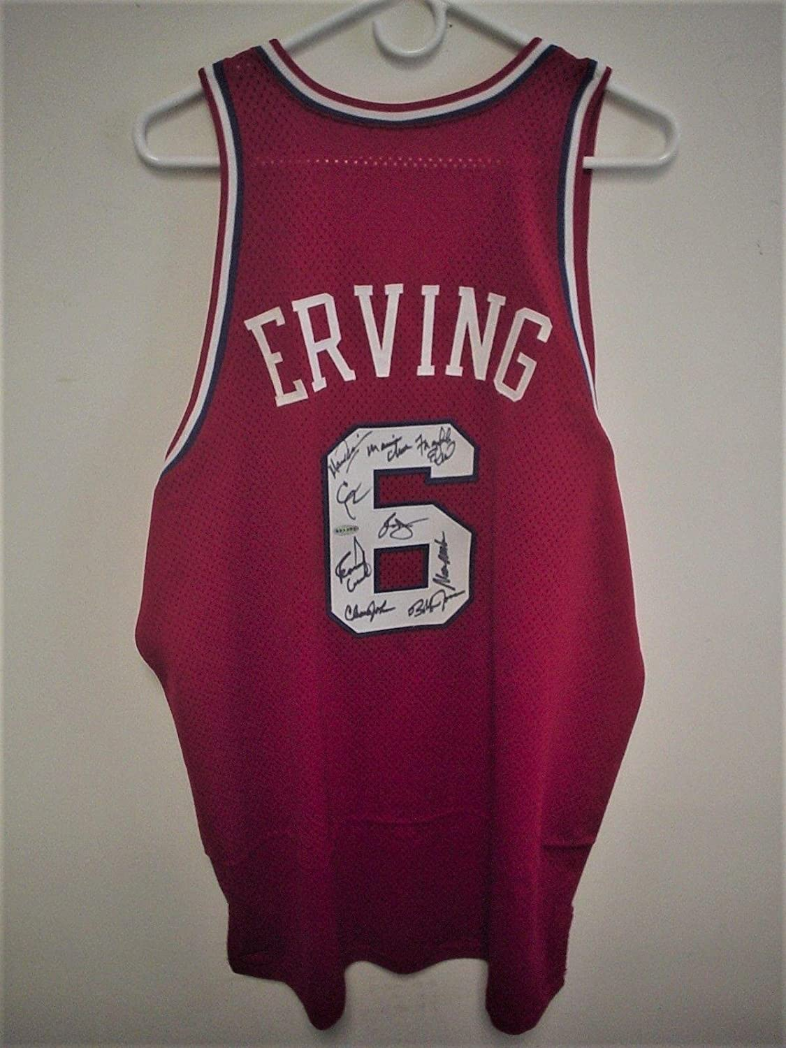 63fd58d2f03 chic Autographed Julius Erving Jersey - 1982 83 Team - Steiner Sports  Certified - Autographed NBA