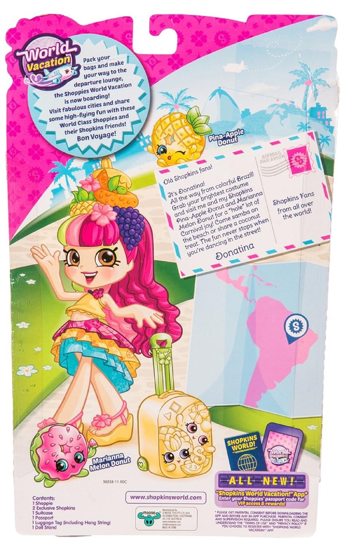 Amazon Shopkins Donatina Visits Brazil Toys Games