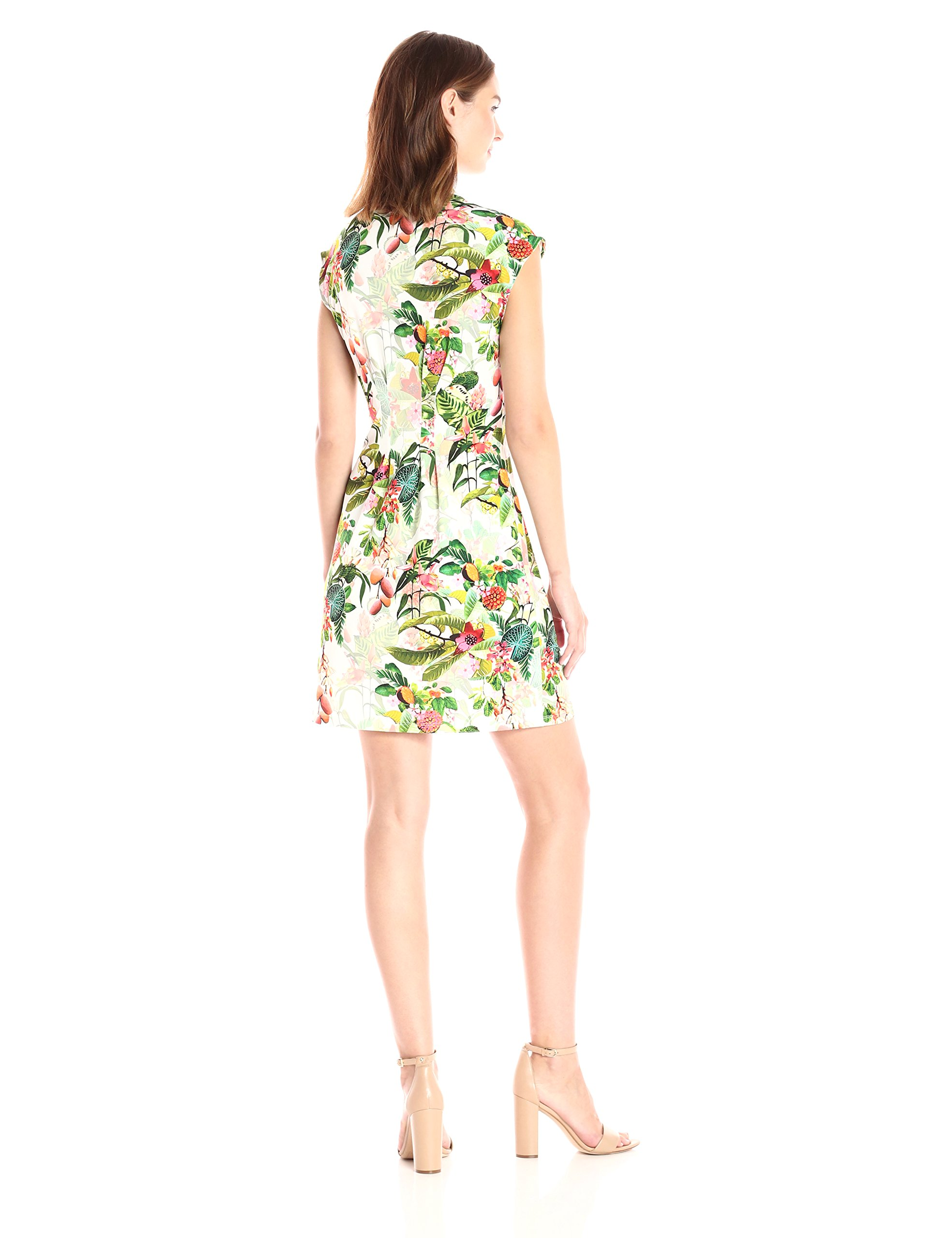 Catherine Catherine Malandrino Women's Tinka Dress, Jungle Floral, L by CATHERINE CATHERINE MALANDRINO (Image #2)