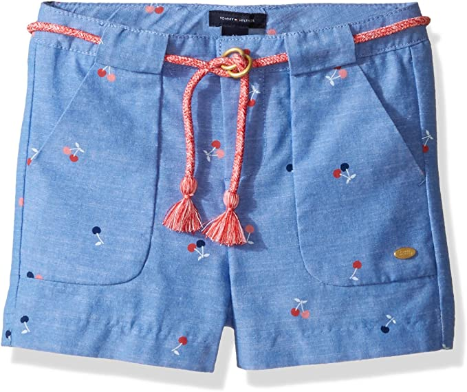 Tommy Hilfiger Girls 5-Pocket Denim Short