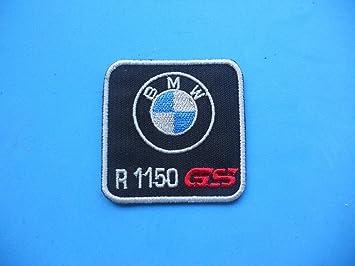 PATCH DE BRODERIE ,, BMW GS r1150 écusson brodé thermocollant cm.5,5 ... 76859f08b0a