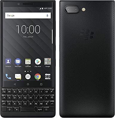 BlackBerry KEY2 128 GB Negro (Dual-SIM, BBF100-6, Teclado QWERTY ...