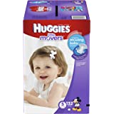 Huggies Little Movers Diapers Step 5, Economy Plus, 132 Count
