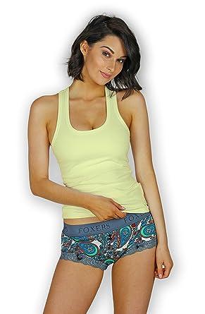 18f47b1c7 Foxers Women s Shelf Bra Tank Top XS-XXL at Amazon Women s Clothing ...