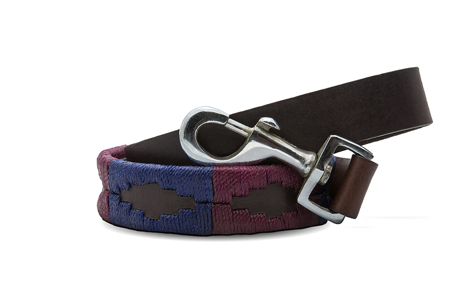 6 Feet Gaucho Goods Premium Hand Stitched Leather Dog Leash Napa Valley (6ft.)