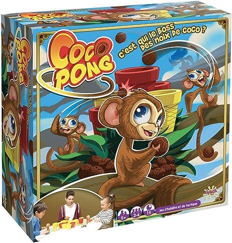 Splash Toys – 30111 – Juego de Acción y de Reflejos Coco Pong: Amazon.es: Juguetes y juegos