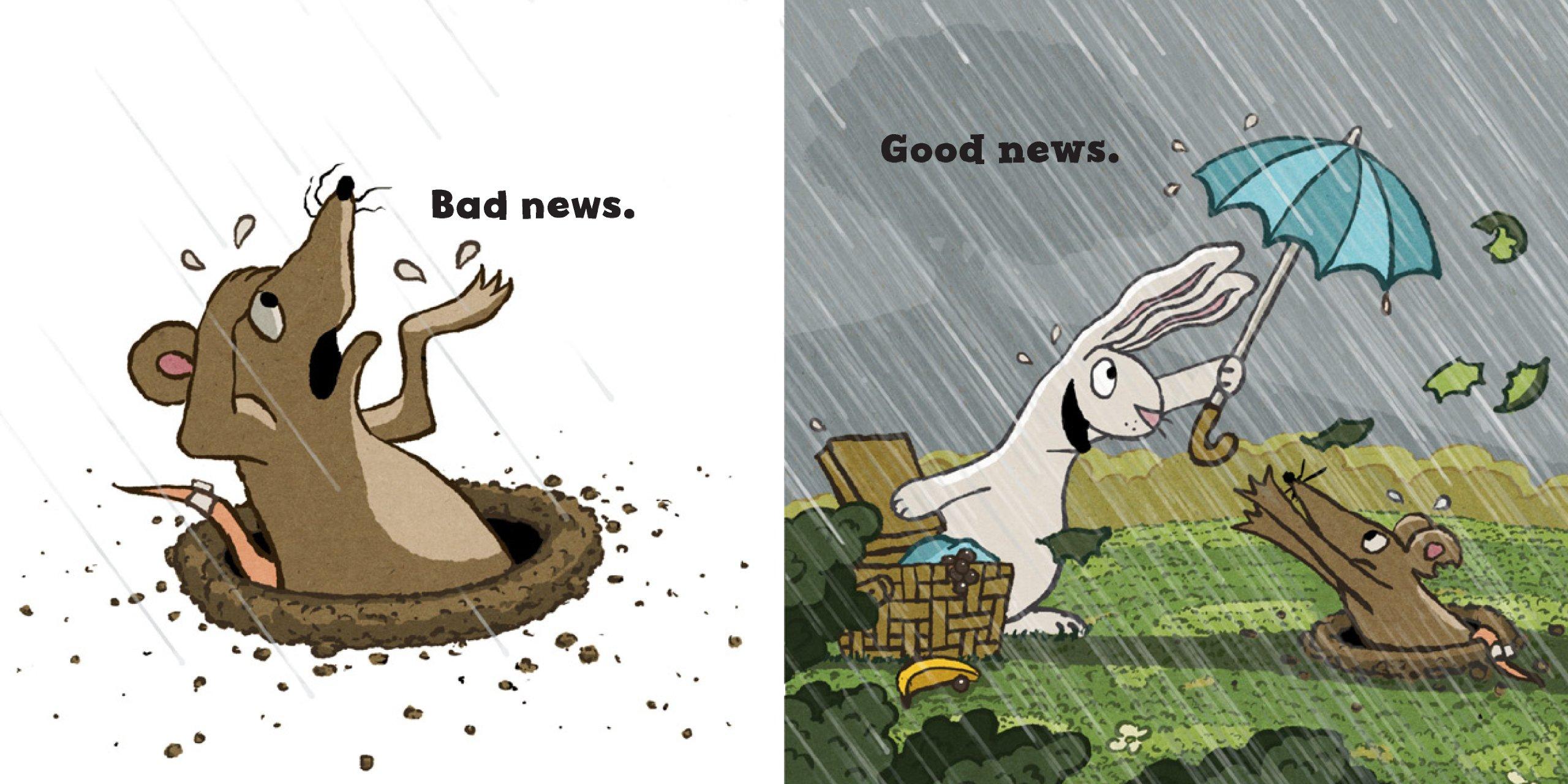 圖片:Good news bad news