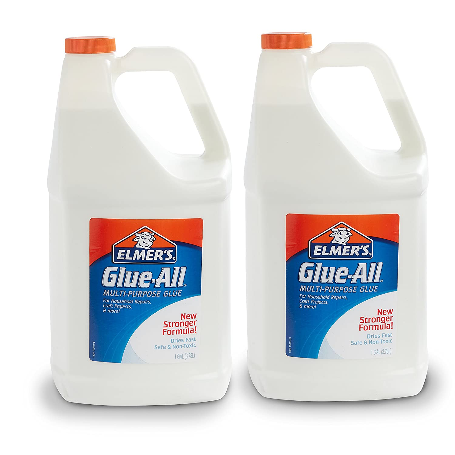 Elmer's Glue-All Multi-Purpose Liquid Glue, Extra Strong, 1 Gallon, 2 Count - Great for Making Slime Elmer' s Products E1326NR
