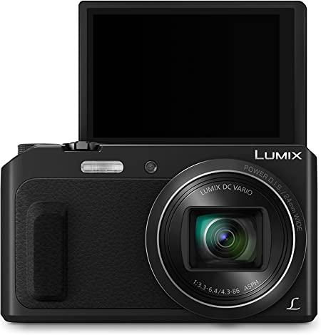 Panasonic Lumix Dmc Tz58eg K Travellerzoom Kamera Kamera