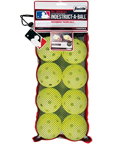 Franklin Sports MLB 9-inch Indestruct-A-Balls Practice Baseballs