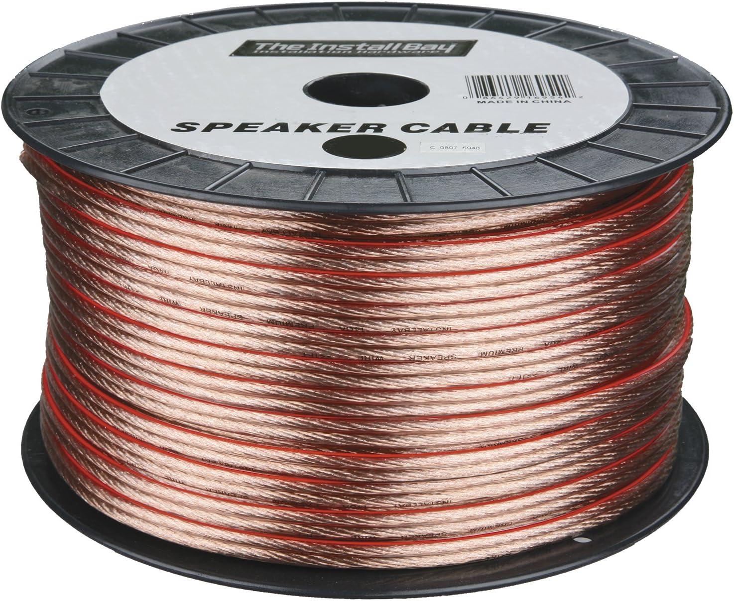 Clear Metra 12GA 250-Feet Speaker Wire
