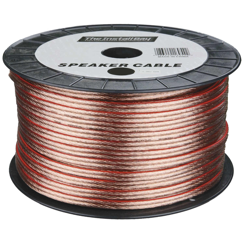 Metra 12GA 250-Feet Speaker Wire, Clear Metra Electronics Corporation IBSW12-250