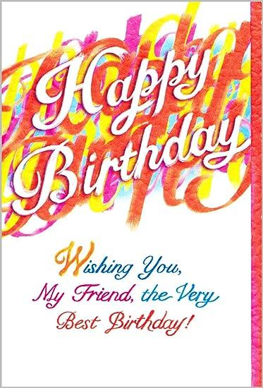 Amazon Blue Mountain Arts Birthday Greeting Card Wishing You My