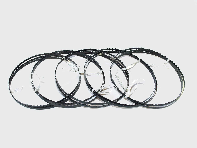 5 x S/ägeb/änder S/ägeband Bands/ägeblatt 1400 x 6 x 0,36 mm 4 ZpZ Holz Atika