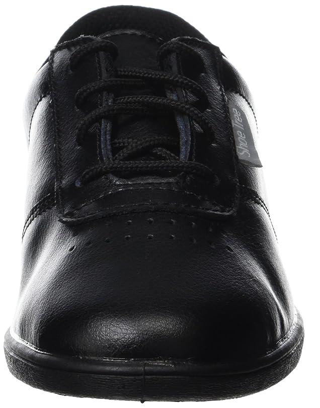 Chaussures À Lacets Pour Les Femmes, La Peau Lisse D'excellente Qualité Peuvent Être Lavés Dans La Machine À Laver, 4 Couleurs, Couleur Noire, Taille 35.5