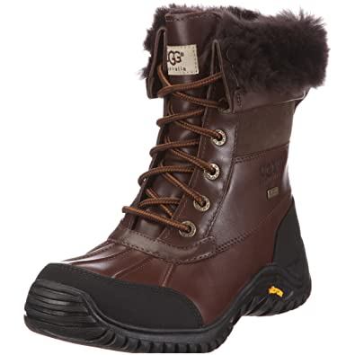 UGG Women's Adirondack II Winter Boot, Obsidian, ...