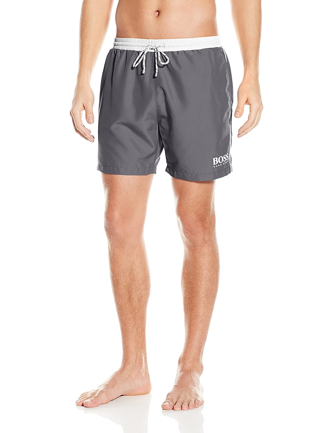 aa7fe5c4d9 Amazon.com: Hugo Boss Men's Starfish Swim Trunk: Clothing