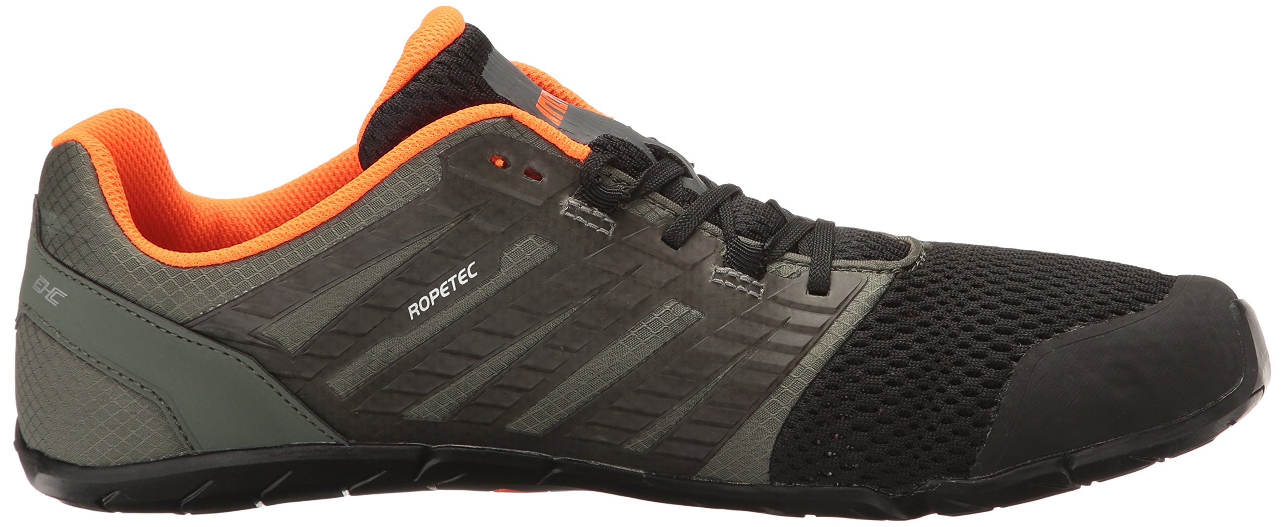 Inov-8 Men's Bare-XF 210 v2 (M) Cross Trainer Grey/Black/Orange 9 D US by Inov-8 (Image #7)