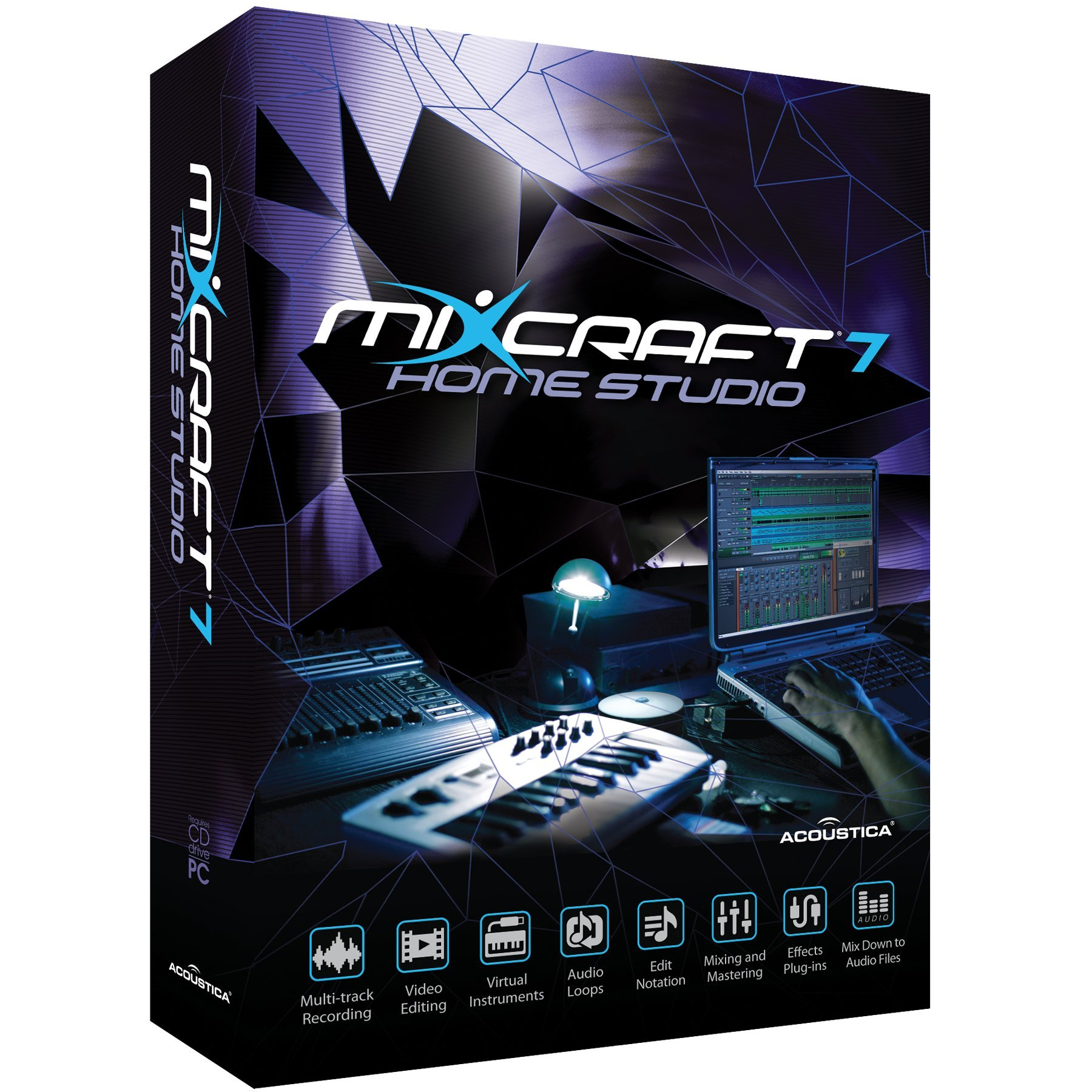 Acoustica Mixcraft Home Studio 7 by Acoustica
