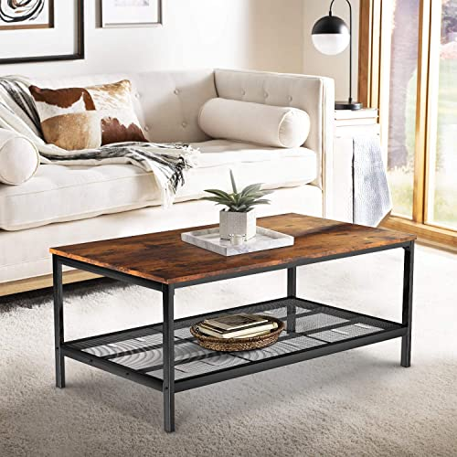 Recaceik Industrial Coffee Table